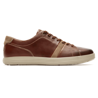 Thurston Lace Up, DARK TAN LEATHER