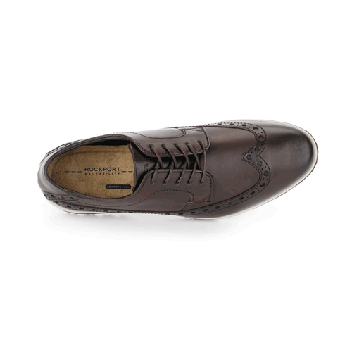 Empire West Wingtip, Men's Dark Brown Wingtips