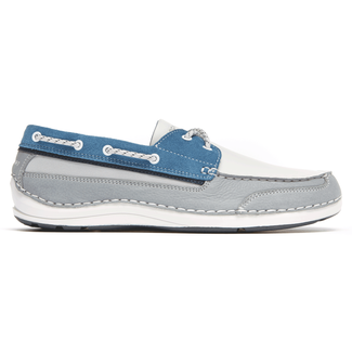 Shoal Lake 2 Eye Men's Boat Shoes in Navy