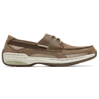 Captin Waterproof  Extended Size Men's Shoes in Brown