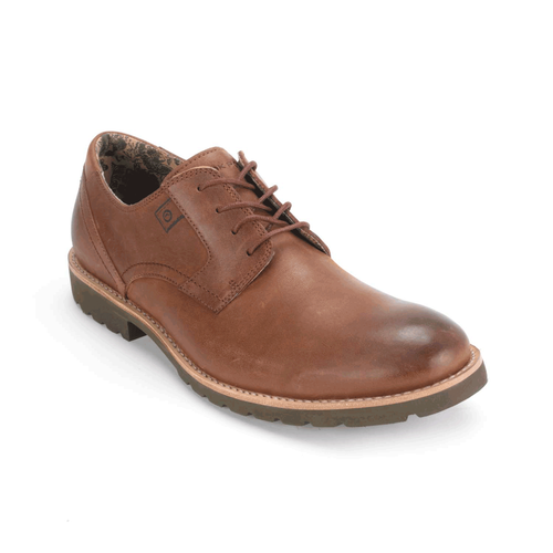 Ledge Hill Plain Toe Men's Dress Casual Shoes in Brown