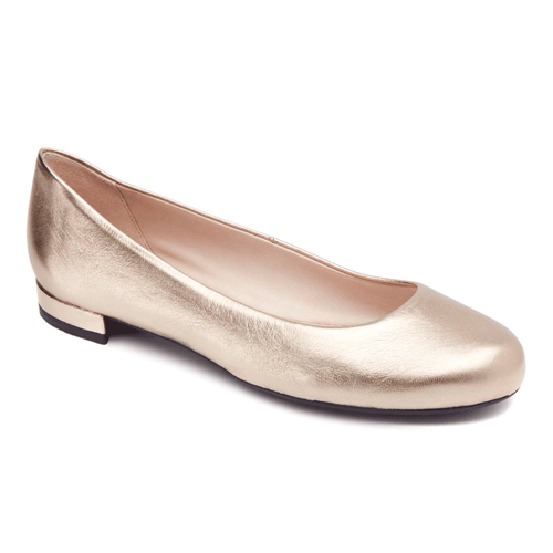 Atarah Plain Ballet Flat Women's Flats in Grey