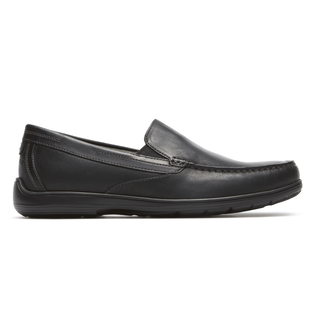 Total Motion Venetian Loafer Comfortable Men's Shoes in Black