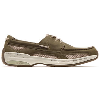 Waterford Captain Boat Shoe in Green