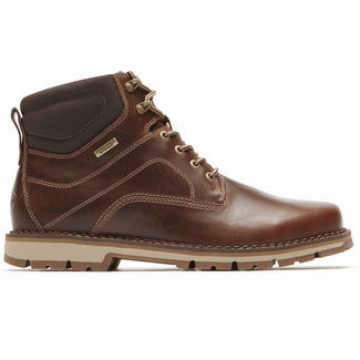 Centry Plain Toe Boot, BROWN