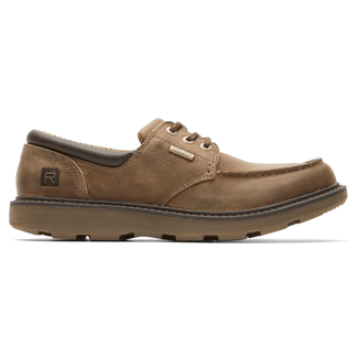 Boat Builders Waterproof Low Moc Toe in Grey
