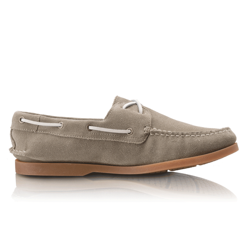 Seaforthe Suede Men's Boat Shoes in Green