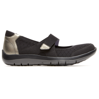 Wembly Mary-Jane Extended Size Women's Shoes in Black