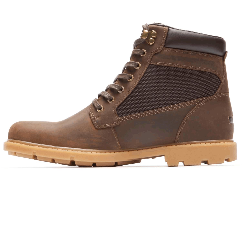 Lovely Rugged Bucks Waterproof High Boot In Brown
