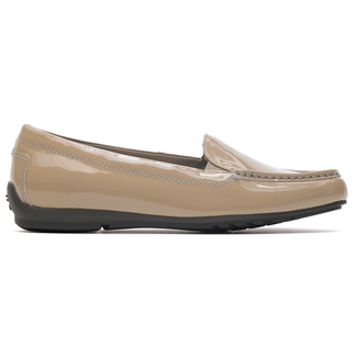 Total Motion  Driving Moc Women's Shoes in Grey