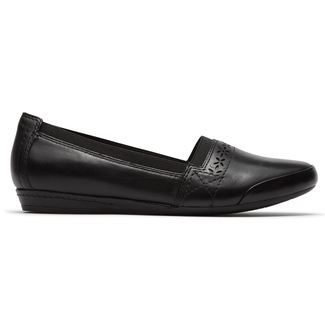 Gigi Slip On Cobb Hill by Rockport in Black