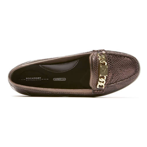 Total Motion Chain Driving Moc Women's Shoes in Exotic