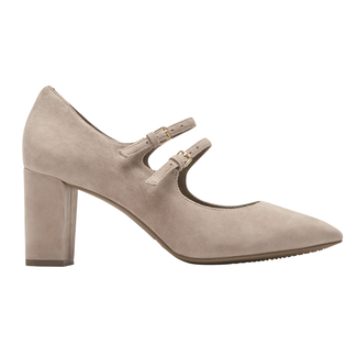 Total Motion Violina Mary Jane Pump, PEBBLE SUEDE