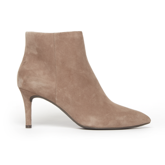 Total Motion Pointed Toe Bootie, NEW TAUPE KID SUEDE