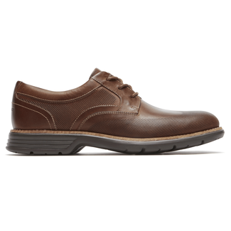 Total Motion Perfed Wingtip Comfortable Men's Shoes in Brown