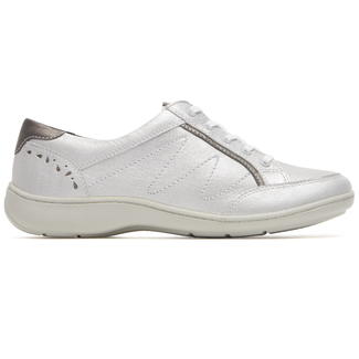 Bromly Oxford Extended Size Women's Shoes in White