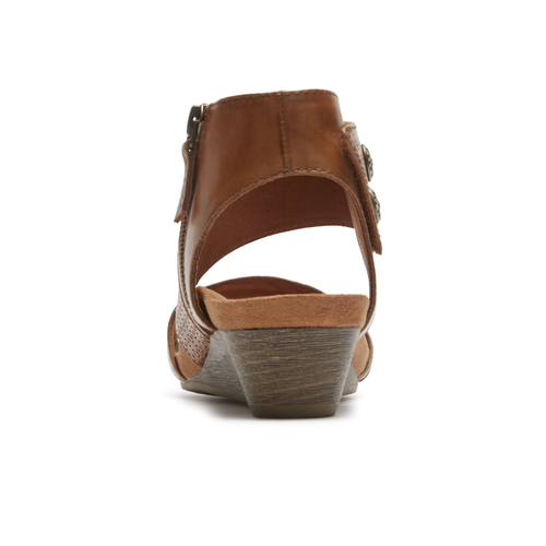 Cobb Hill Hollywood Cuff Sandal, TAN
