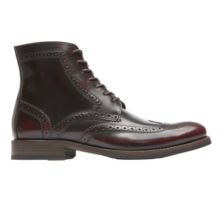 Wyat Wingtip Boot, BURGUNDY