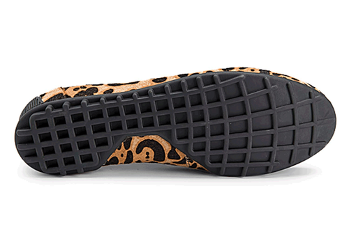 Jackie Penny Loafer Women's Flats in Leopard
