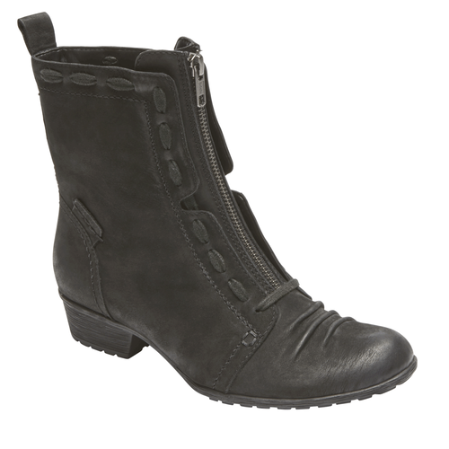 Cobb Hill Gratasha Zip Boot, BLACK NBK