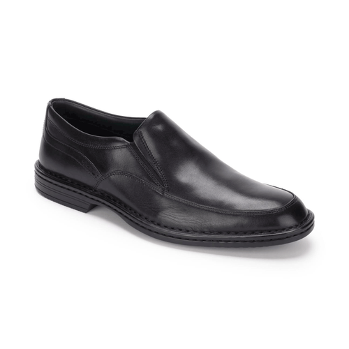 RocSports Lite Business Slip On Men's Dress Shoes in Black