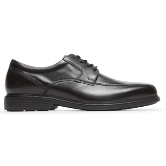 Charles Road Bike Toe Oxford in Black