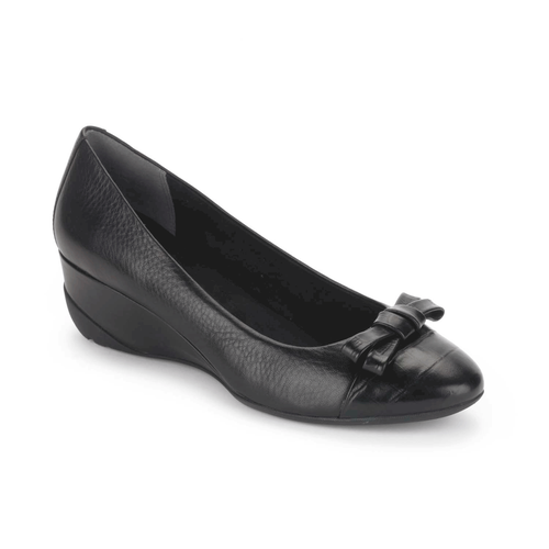 truLinda Bow PumpTrulinda Bow Pump, Women's Black Wedges