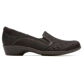 Nina Slip On Cobb Hill by Rockport in Black