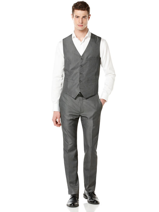 Micro Twill Heather Suit, , hi-res