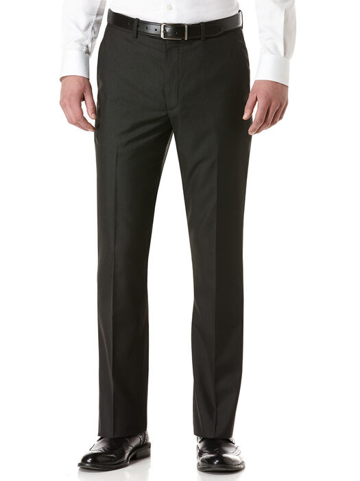 Modern Fit Stripe Portfolio Pant, Black, hi-res
