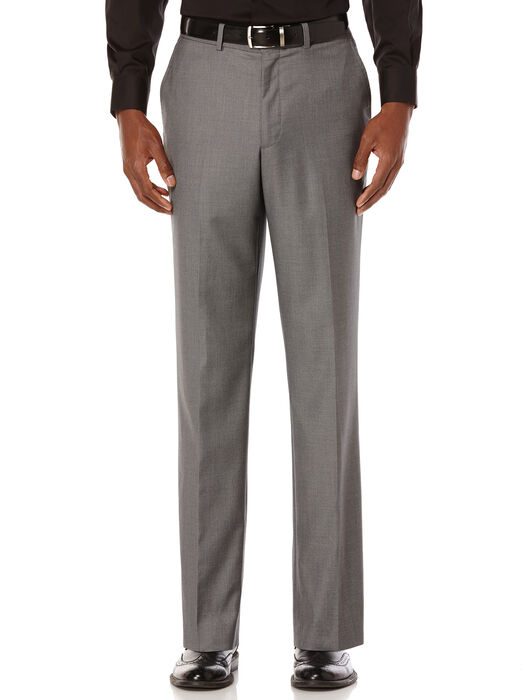 City Fit Solid Sharkskin Suit Pant, , hi-res