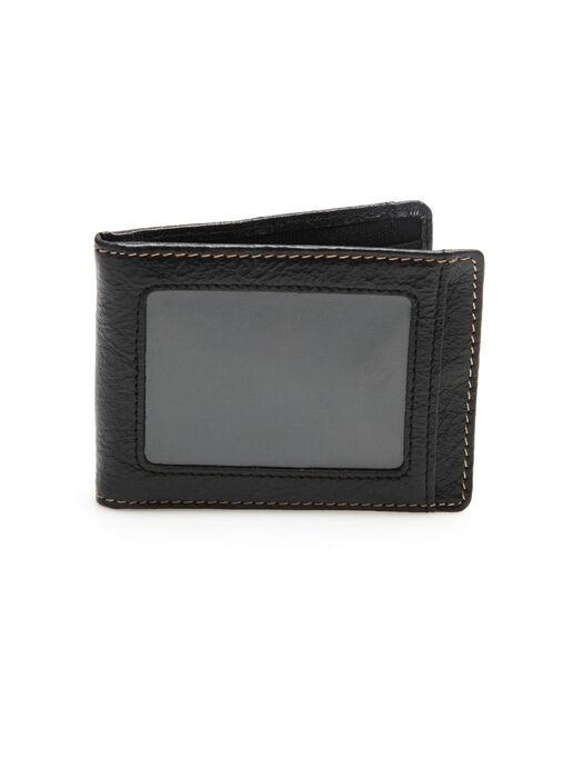 America Flip Clip Portfolio Wallet, Black, hi-res