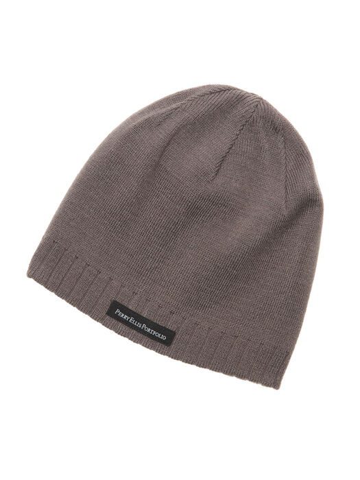 Reversible Beanie, Charcoal, hi-res