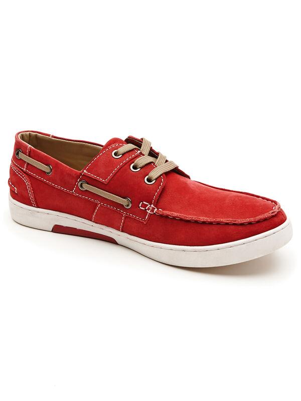 Konrad Casual Shoe, Red, hi-res