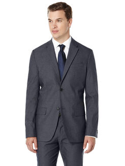 Modern Fit Twill Sport Coat, Slate, hi-res
