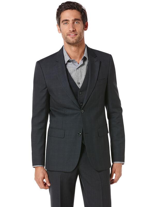 Tonal Plaid Suit Jacket, Keystone, hi-res