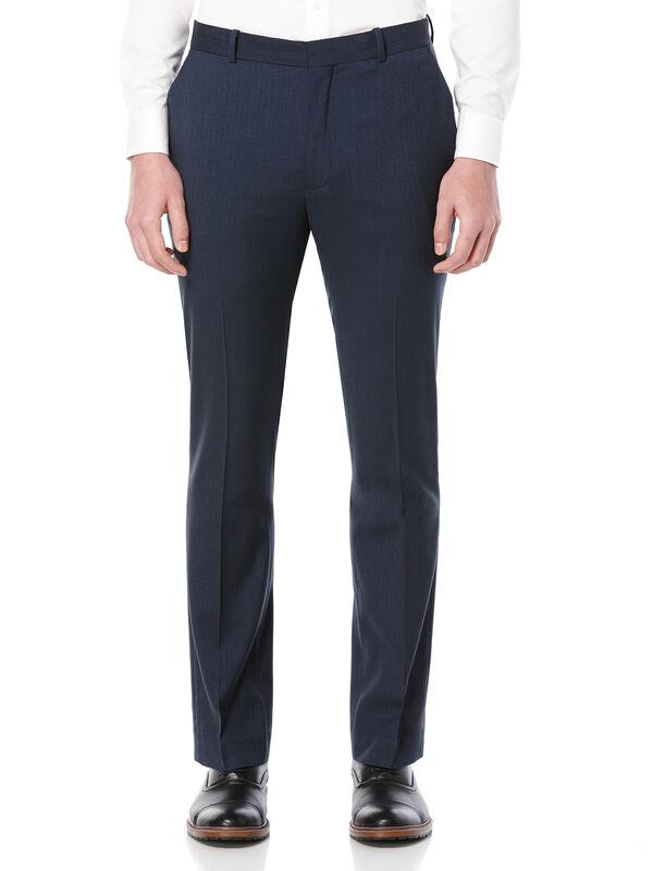 Slim Fit Solid Portfolio Pant, Azure Blue, hi-res