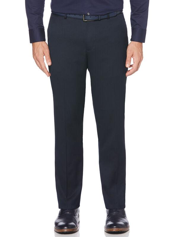 Slim Fit Textured Portfolio Dress Pant, Navy, hi-res