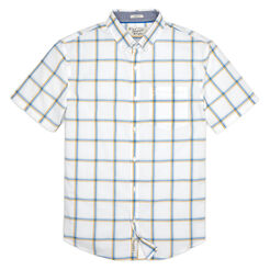 MULTICOLOR WINDOWPANE SHIRT, Bright White, hi-res