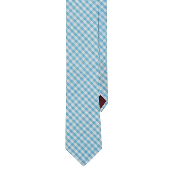 ADCOCK CHECK TIE, Blue, hi-res
