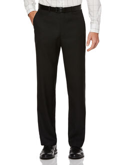 Sharkskin Classic Fit Portfolio Pant, Black Ice, hi-res