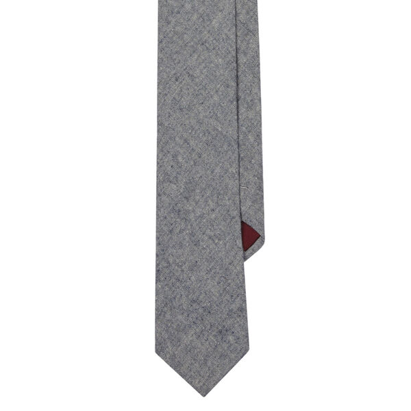 FLAGLER SOLID TIE, Charcoal, hi-res