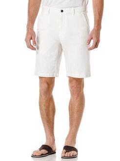 Linen Chambray Short, Bright White, hi-res