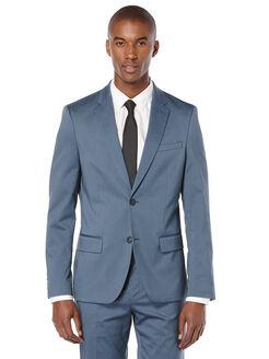 Very Slim Iridescent Twill Suit Jacket, Bering Sea, hi-res