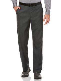 Sharkskin Classic Fit Portfolio Pant, Charcoal, hi-res