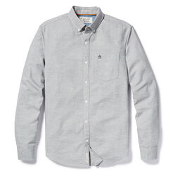 JASPE OXFORD SHIRT, True Black, hi-res