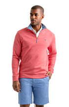 Heather Cotton Jersey 1/4-Zip