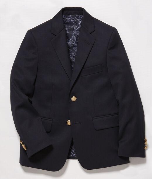 Boys 2-Button Wool Blazer