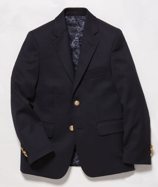 Boys 2-Button Wool Blazer
