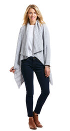 Cable Waterfall Cardigan